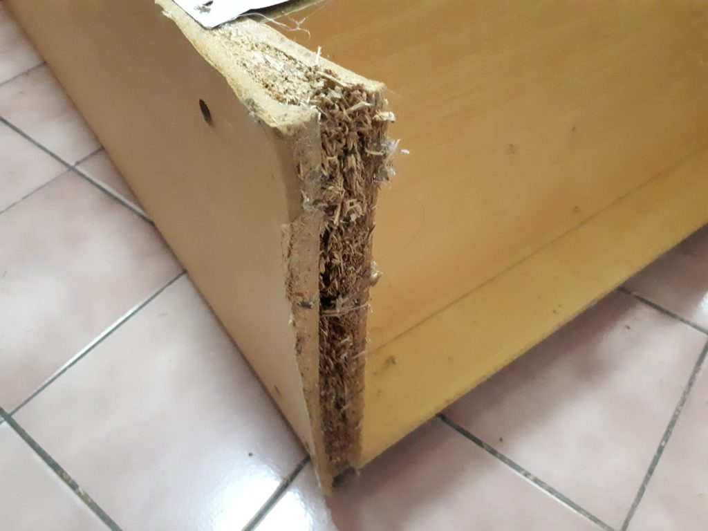 Particle Board Falling Apart