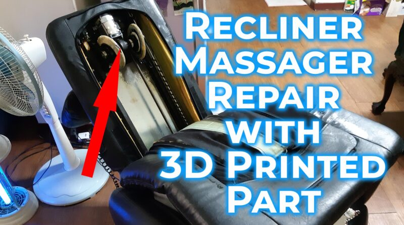 Recliner massager repair